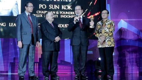 Indonesian Tycoon Po Sun Kok Wins Indonesia Top Property Leader Award 2019