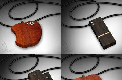 Gresso's new USB flash drives come adorned in wood and diamonds