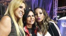 Rita Cadillac, Gretchen e Valesca Popozuda posam juntas e web aplaude: 'Rainhas do Bumbum'