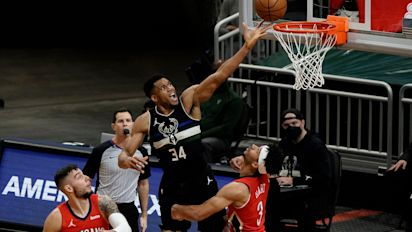 Giannis Antetokounmpo lifts Bucks over dogged Pelicans