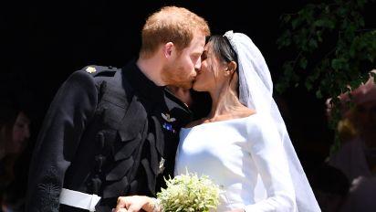 Das passierte mit Herzogin Meghans Brautstrauß nach der Hochzeit