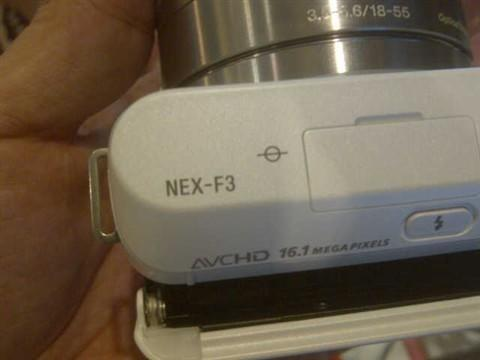 First image of Sony NEX-F3 leaked, outs 16.1 MP sensor