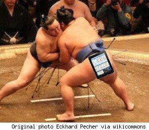 Japan Sumo Association is wrestling with iPads
