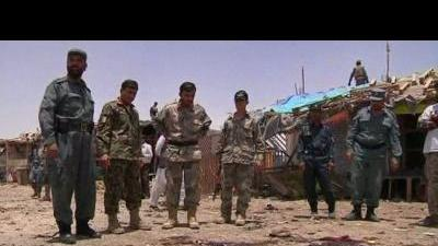 Suicide blasts kill 20 in Kandahar