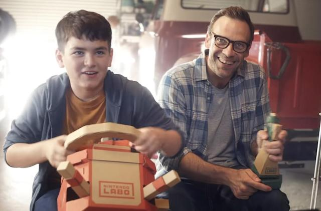 Nintendo's Vehicle Labo kit delivers cardboard driving fun