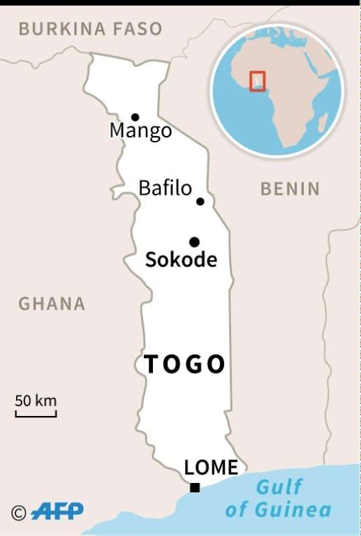 Togo (AFP Photo/Kun TIAN)