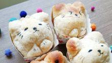 讓一眾小動物來為這個星期的你打氣打氣! . 可愛動物餐包食譜...