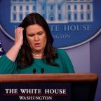 Sarah Huckabee Sanders Lied About Details Of James Comey's Firing: Mueller Report