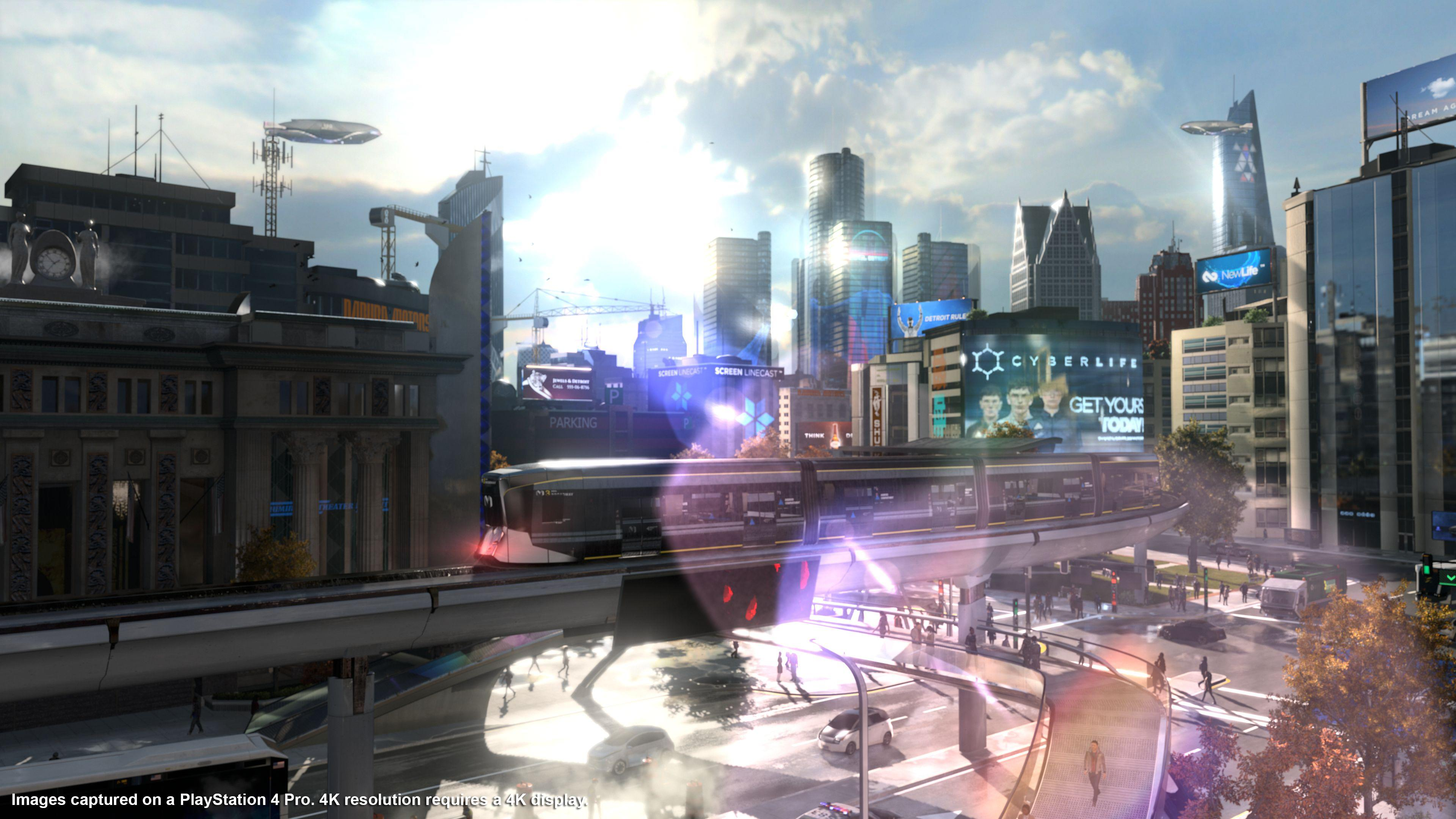 Image result for detroit become human city