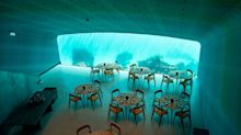 Europe's first underwater restaurant has opened in Norway – and is fully booked for six months