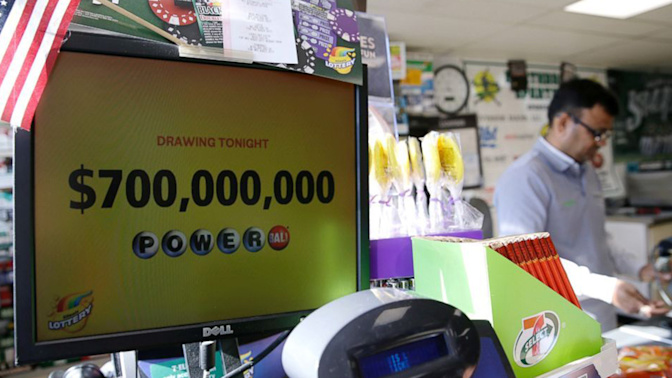 Numbers drawn for $758M Powerball jackpot