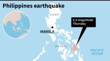 One dead as strongquake hits central Philippine island: official