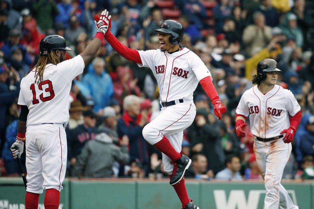 The Boston Red Sox made it back-to-back AL East titles with Saturday's win against the Astros. (AP)