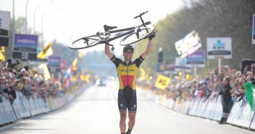 Cyclisme - Tour des Flandres - Gilbert : «Un peu fou de partir de si loin»