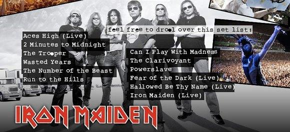 New Iron Maiden tracks on the way to Rock Band