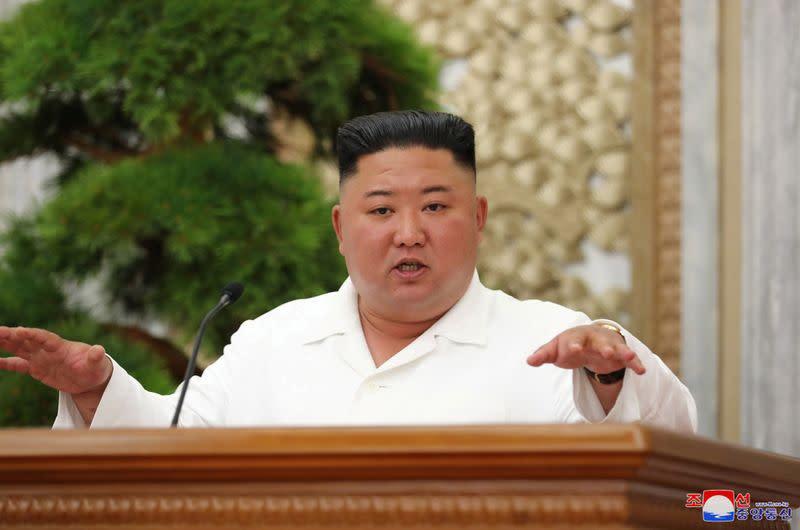Kim Jong Un says North Korea prevented coronavirus from making inroads