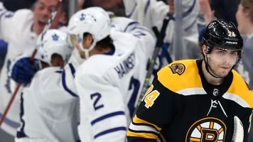 Watch live: Bruins' backs are against the wall