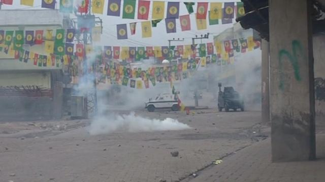 Kurds clash with police on anniversary of rebel leader's capture
