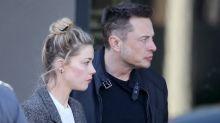 Las heridas de Amber Heard las causó Elon Musk y no Johnny Depp, dicen testigos
