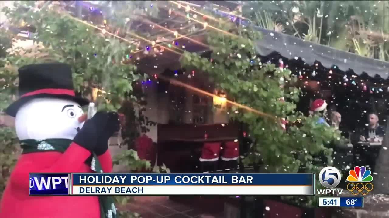 Miracle Christmas Pop Up Bar In Delray Beach Video