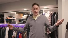 Pete Davidson Shows Off 'Cave' Apartment in His Mom's Basement — Complete with 'Porno Shower'