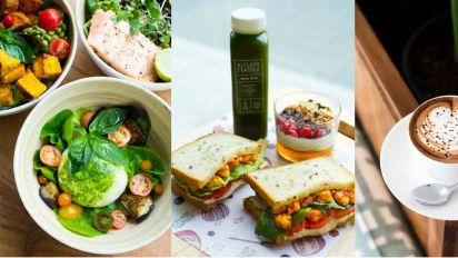Want healthy but yummy food? Try organic, vegan-friendly food of Kitchen Garden