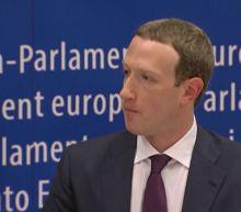 FB CEO faces European Parliament members