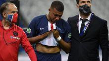 Foot - Coupe - PSG: taclé par Loïc Perrin, Kylian Mbappé sort sur blessure en finale de la Coupe de France