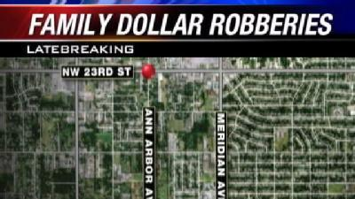 Robbers Hold Up 2 Family Dollar Stores