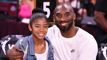 Kobe's daughter makes circus shot, Mamba style