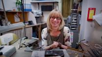 Jeweller with no HANDS crowned 'Woman of the Year'