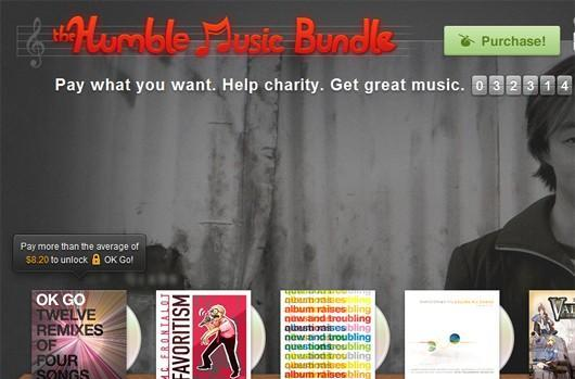 Play the latest Humble Bundle with headphones
