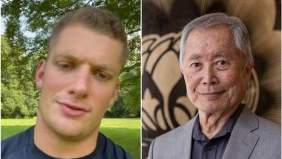 Carl Nassib: George Takei and Billy Eichner congratulate NFL player as he comes out as gay