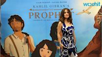 Salma Hayek Pays Tribute to Lebanese Roots With Film of 'The Prophet'