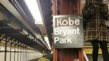 New York's Bryant Park Subway Station 'Renamed' in Kobe Bryant Tribute