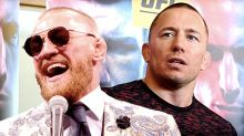 Georges St-Pierre's coach teases potential fights with Conor McGregor, Floyd Mayweather