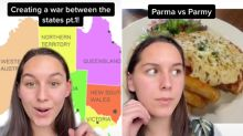 Woman's TikTok set to 'create war between Aussie states'