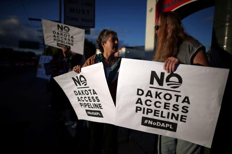 Future of Dakota Access pipeline uncertain as Biden presidency looms