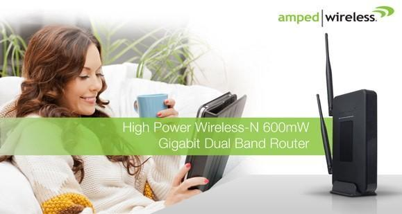 Amped Wireless launches dual-band 10,000 square feet router, now no wall is safe