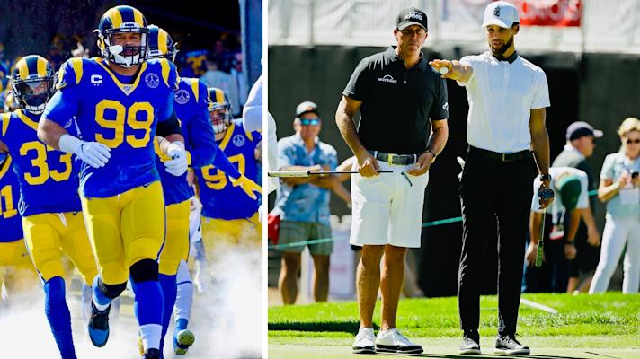 The Rush: The NFL returns to L.A. in August and Phil Mickelson wants to expand The Match