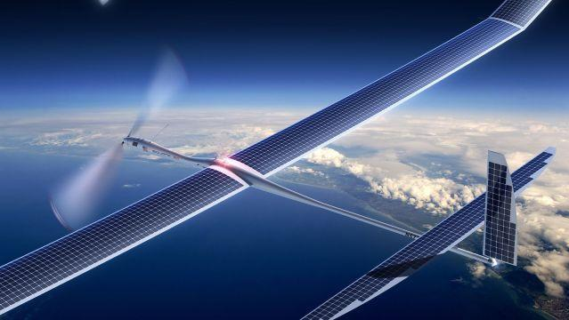 Google 'Project SkyBender' to Beam 5G Internet Using Drones