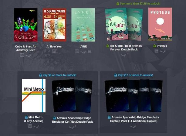 Humble Bundle celebrates IndieCade: Proteus, Ibb & Obb