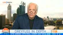 Richard Dreyfuss slams The Project over interview