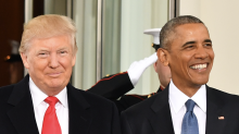 President Donald Trump ties former President Barack Obama as most admired man in the U.S.