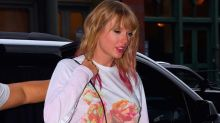 Taylor Swift Steps Out in NYC Seemingly Rocking TS7 Merch