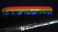 Uefa draws criticism after opposing plans to light up Allianz Arena in rainbow colours