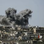 Syrian government targets rebels near Israel-occupied Golan