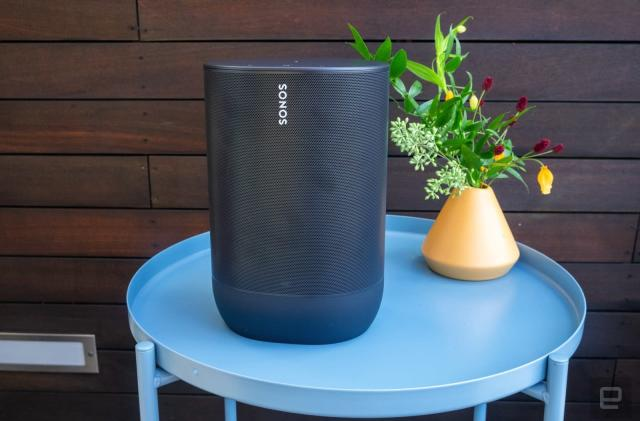 The Sonos Move is more than a Bluetooth speaker
