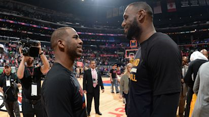 LeBron, CP3 call out Trump and defend Curry