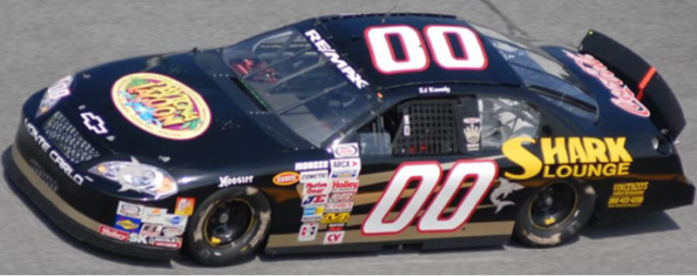 The Shark Lounge sponsored an ARCA car at Daytona several times.